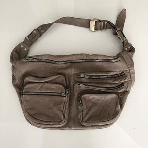 ALEXANDER WANG MAX MESSENGER FANNY PACK BAG